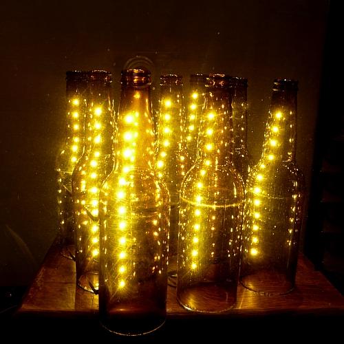 Eco O Wietlenie Dizajnerskie Lampy Z Butelek Bi Uteria Autorska Lampy Witra Owe Witra E